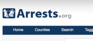 Arrests.org Removal