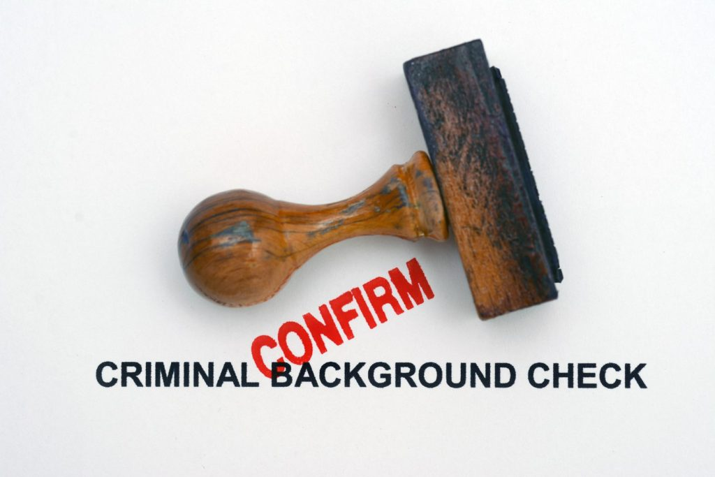 Background Check Removal