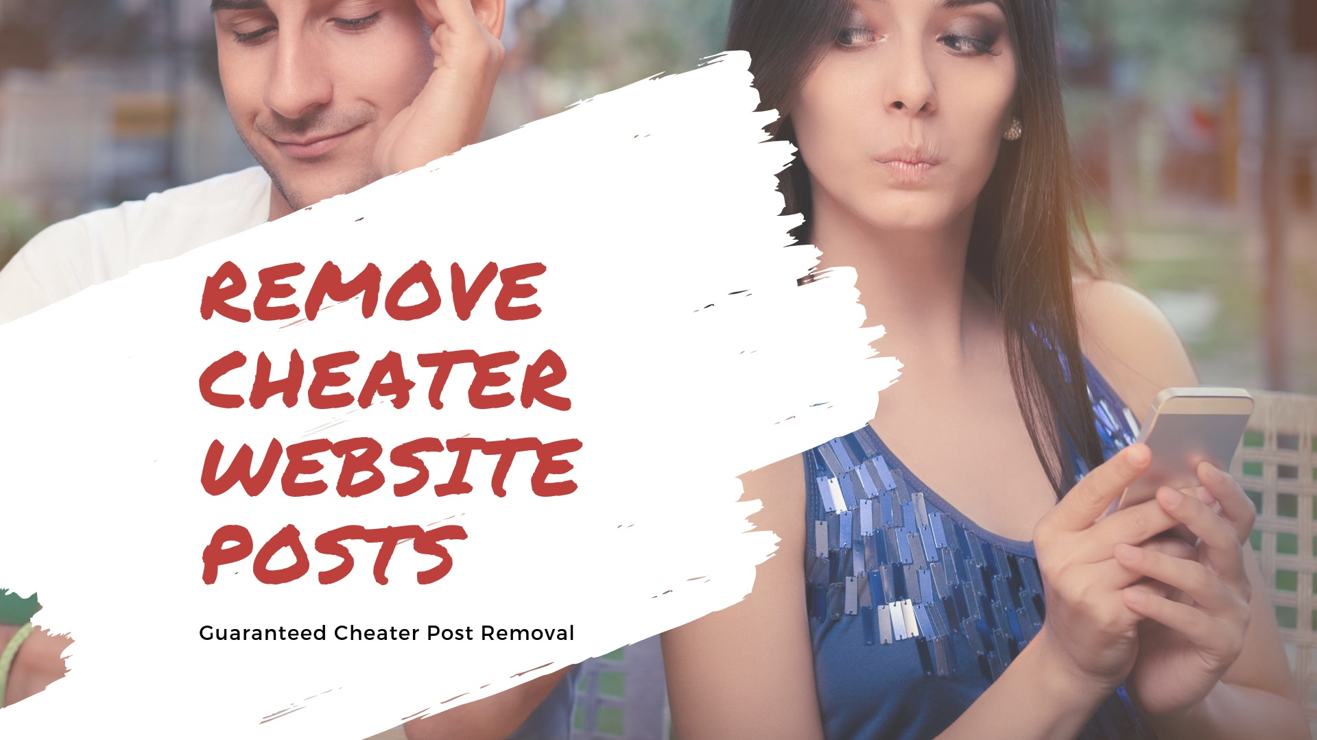 Remove Cheater Website Posts