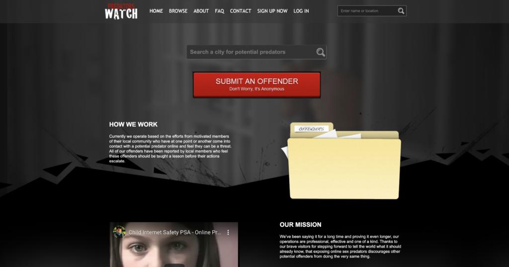 How to Remove PredatorsWatch.com Information Online